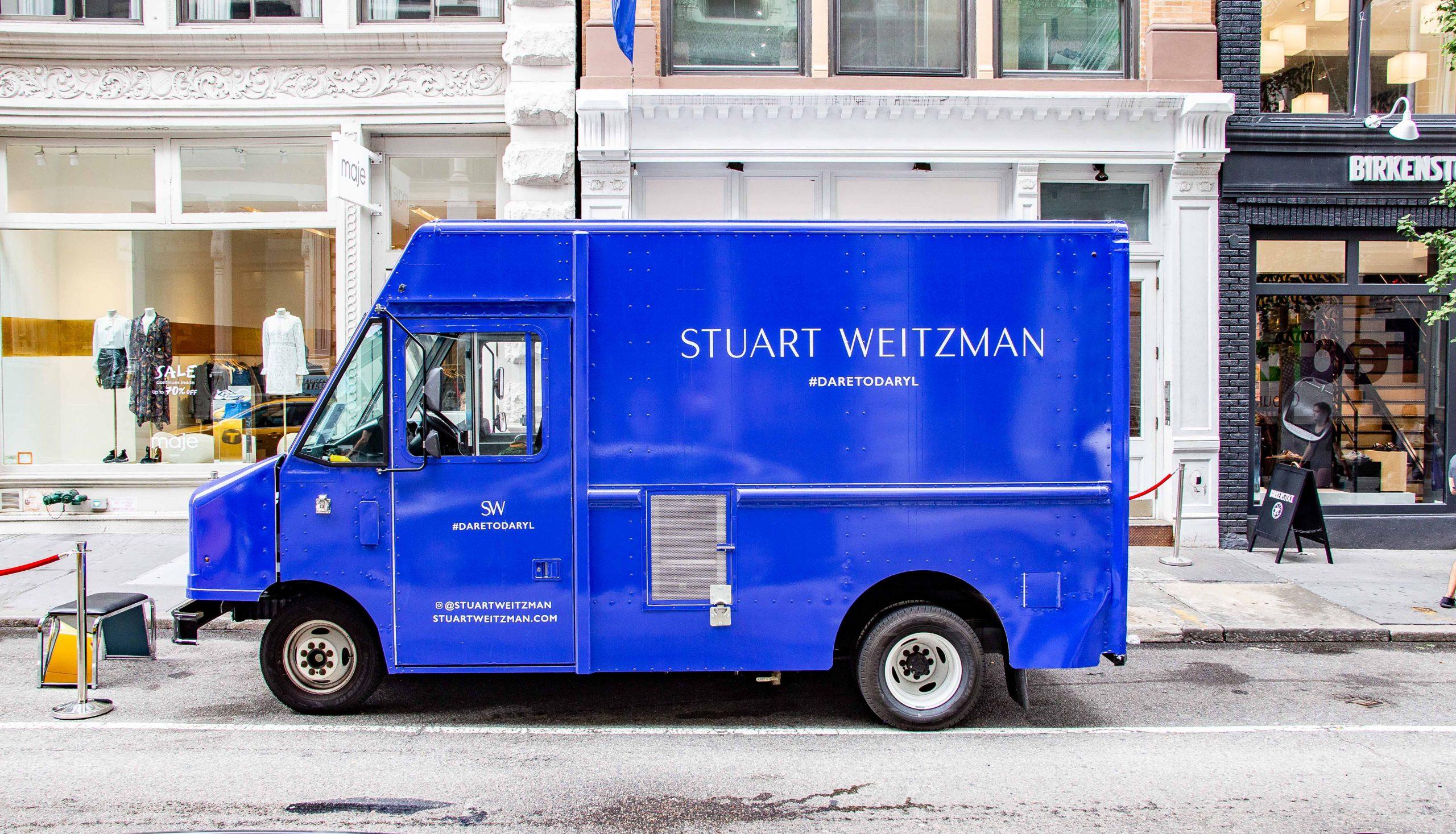 Branded food truck