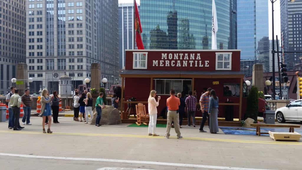 Visit Montana Experiential Marketing