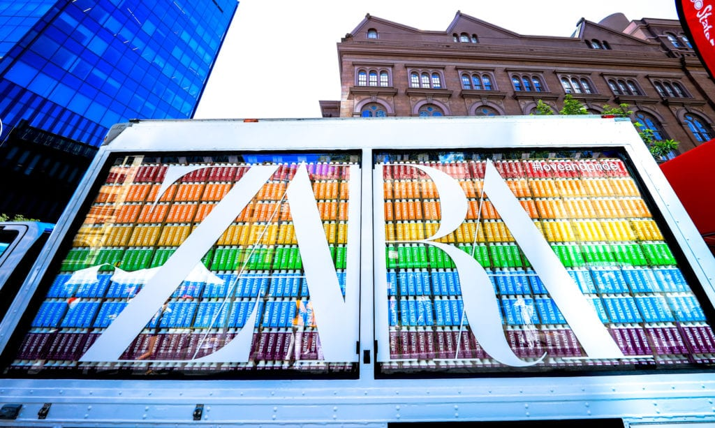 Glass Truck Experiential Marketing Example