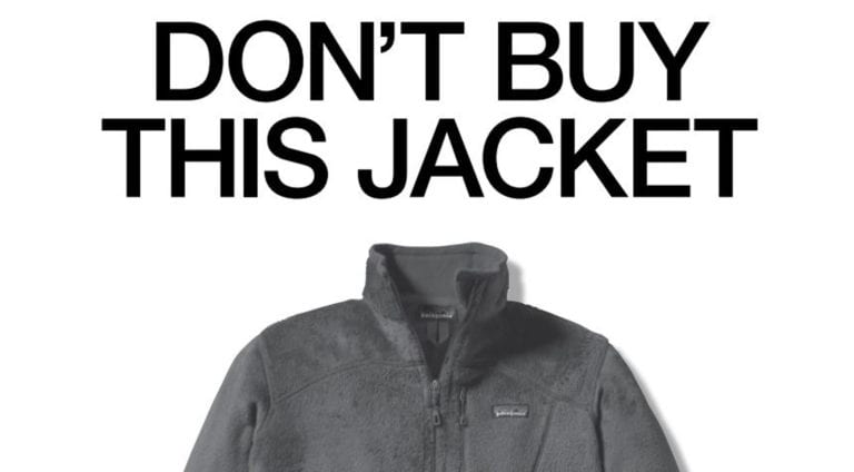 Patagonia Anti-Advertising Don't Buy This Jacket