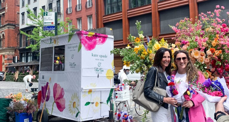 Broadway In Bloom Kate Spade Mother's Day 2021