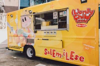 Salem Ilese Branded Pop-Up Cereal Food Truck
