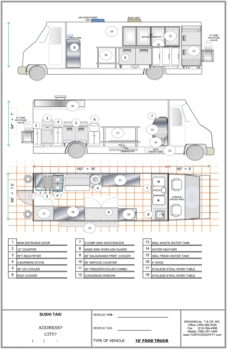Food Truck Plans