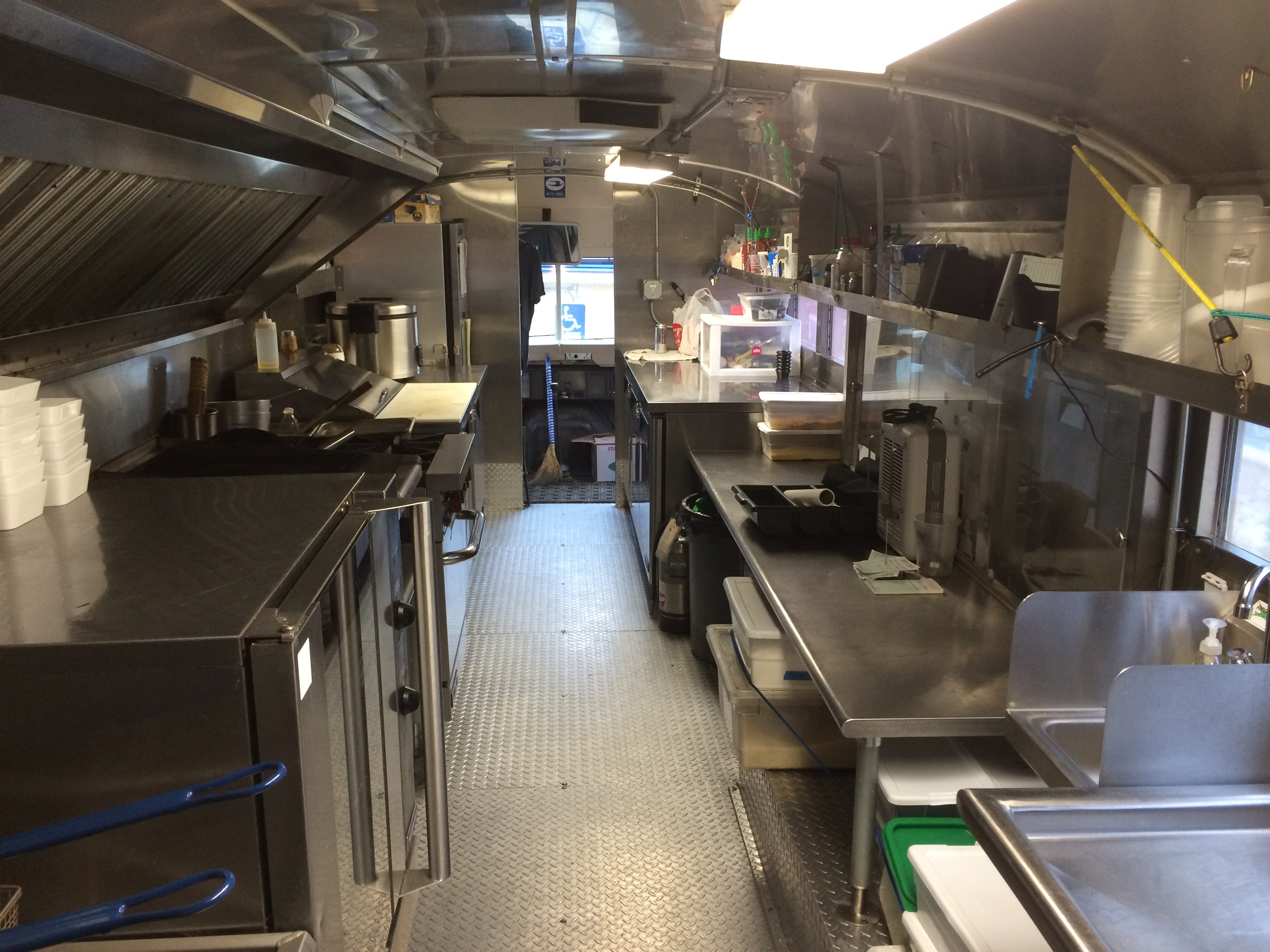 used kitchen on wheels for sale cabinets home depot food truck trucks