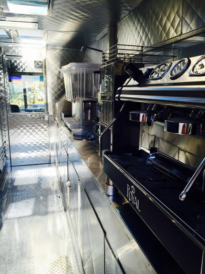 Juice Truck Interior