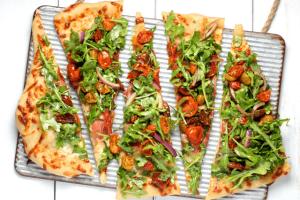 Pizza Teig mit Hefe