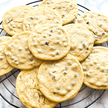 Softe Chocolate Chip Cookies