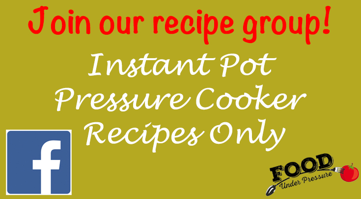 Click to Join our Recipe group on Facebook!