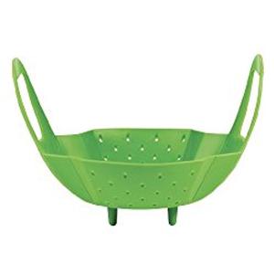 OXO silicone steamer basket
