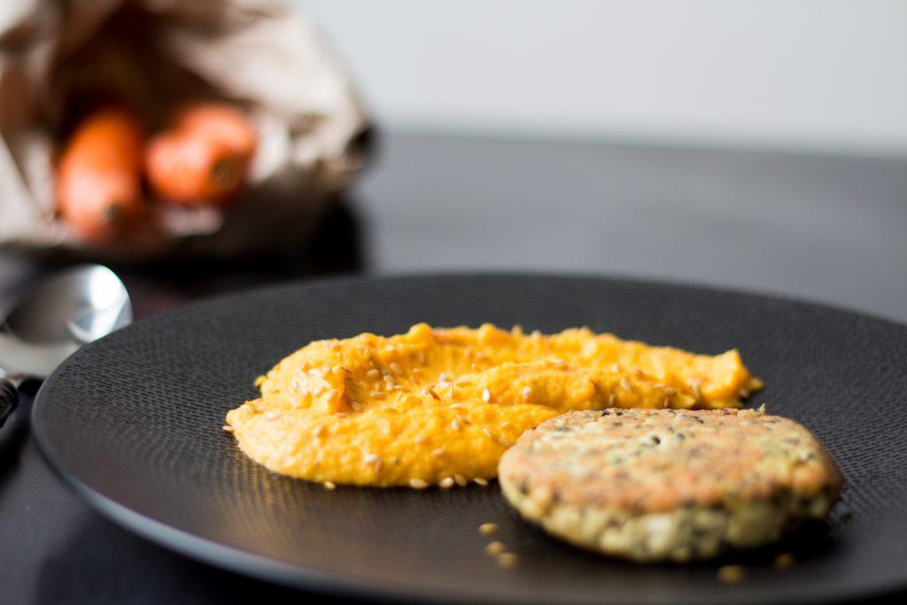 quinoa-burger-puree-carrots-gargonzola-gregousfood-2