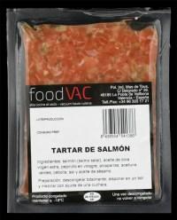 Tartar de salmón foodVAC