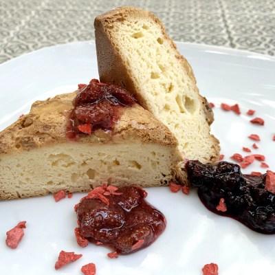 Brownie chocolate blanco sin gluten - Productos Quinta Gama para Alta Cocina - foodVAC