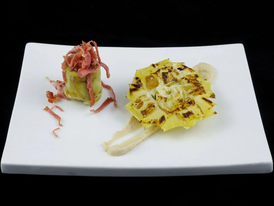 Qualitätsprodukte sous-vide gegart. Durch langes Sous-Vide-Kochen werden außergewöhnliche Texturen und Aromen erzielt.