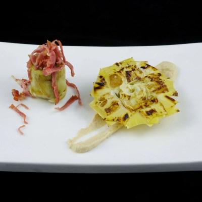 Corazón / Flor de alcachofa - Productos Quinta Gama para Alta Cocina - foodVAC