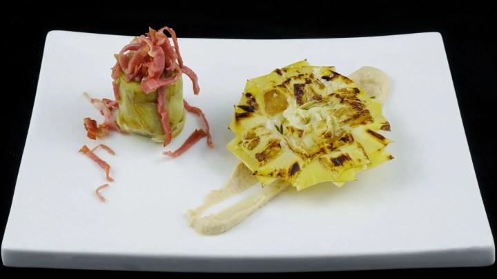 Artichoke Heart/Flower Sous Vide Fine Food for Haute Cuisine