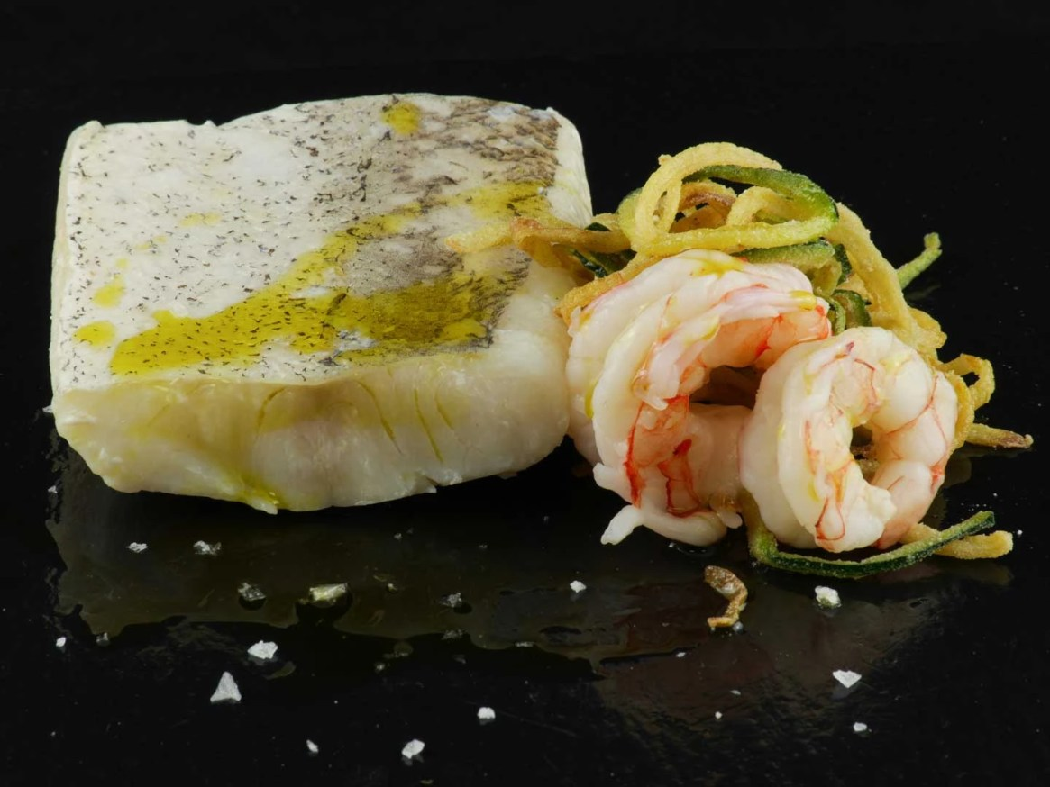 Confited hake - Sous Vide Fine Food for Haute Cuisine Products - foodVAC