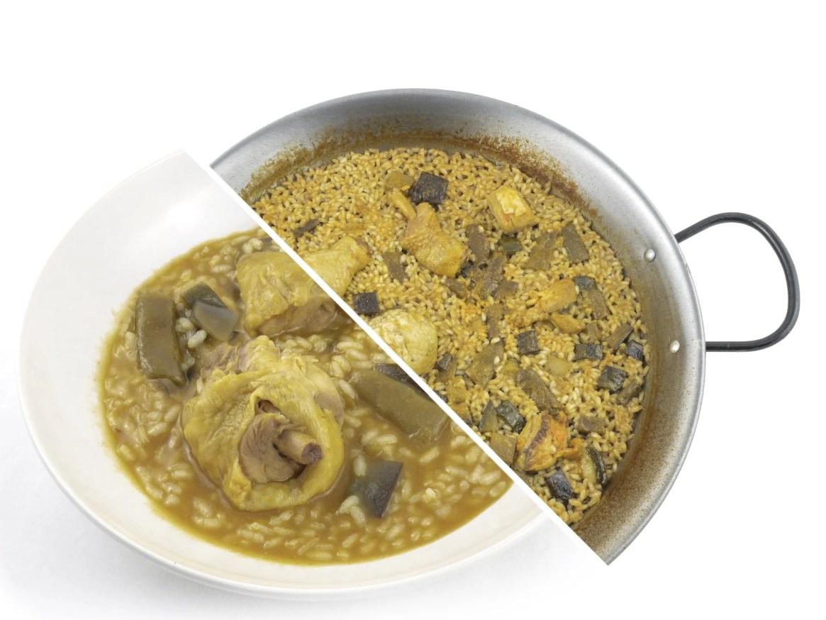 Arroz de Pollo de Granja con Verduras foodVAC
