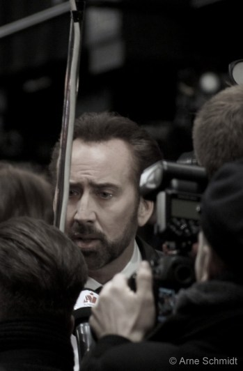 The Talk - Nicolas Cage on the red carpet of 63rd Berlinale, February 2013