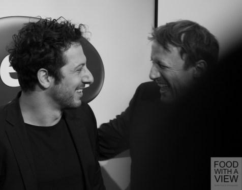 Fahri Yardim & Wotan Wilke Möhrung Medienboard Berlin-Brandenburg Reception @ Berlinale 2015