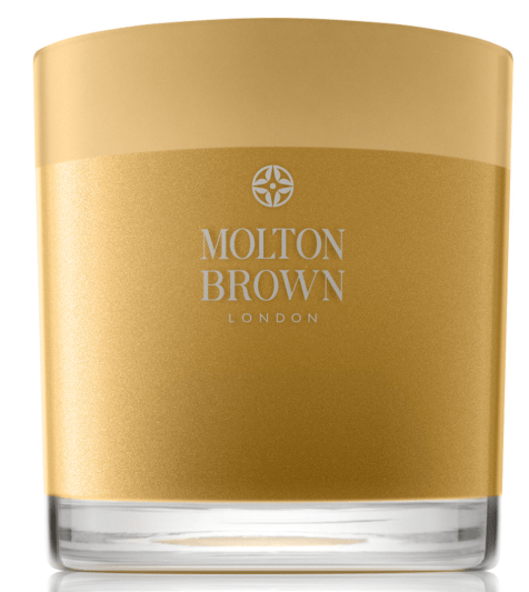 Oudh Accord & Gold Three Wick Candle from Molton Brown