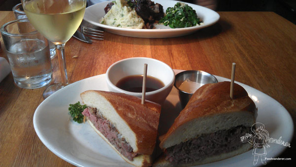 R & D Kitchen Serving Savory Meatloaf Dishes, French Dip, Plus ...