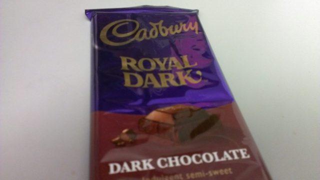 Cadbury Royal Dark Chocolate. Photo: Foodwanderer