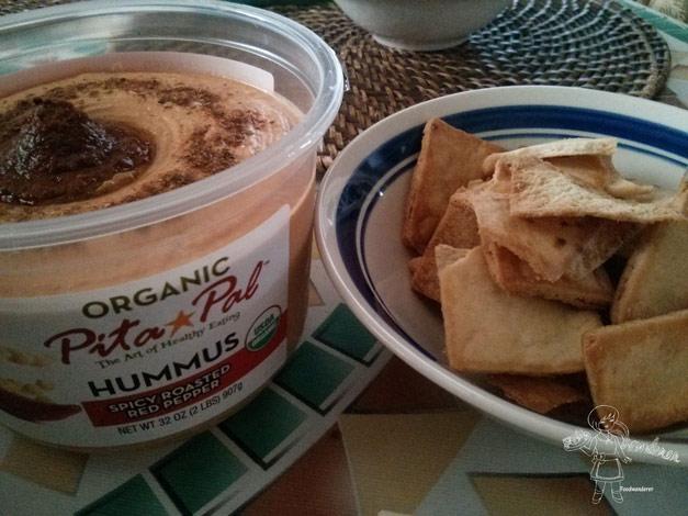 Organic Pita Pal Hummus