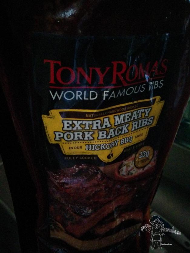 Tony Romas World Famous Ribs