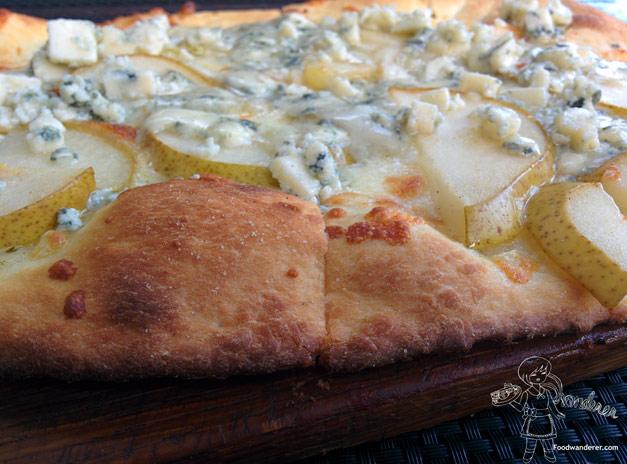 Pear and Gorgonzola Pizza