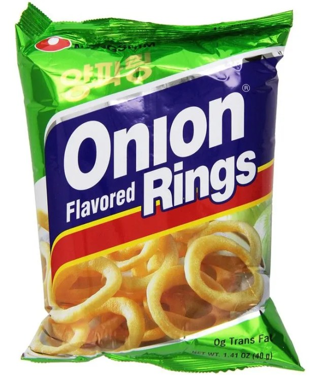 Nongshim Onion Flavored Rings