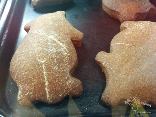 Vons pig shaped cookies (Marranitos)