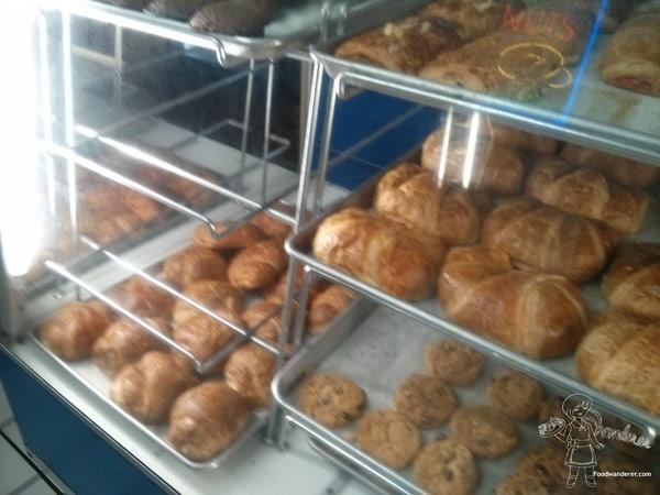 Seaside Bakery croissants and cookies