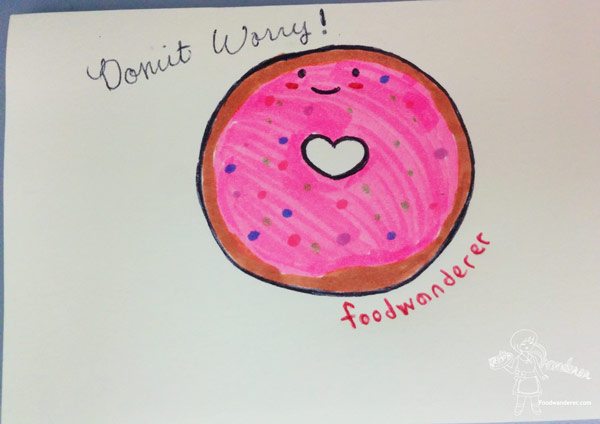 Foodwanderer Donut Worry