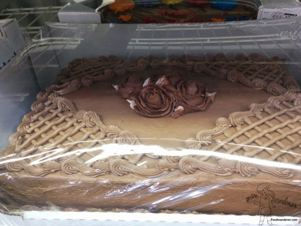 Costco Chocolate Balloon Cake