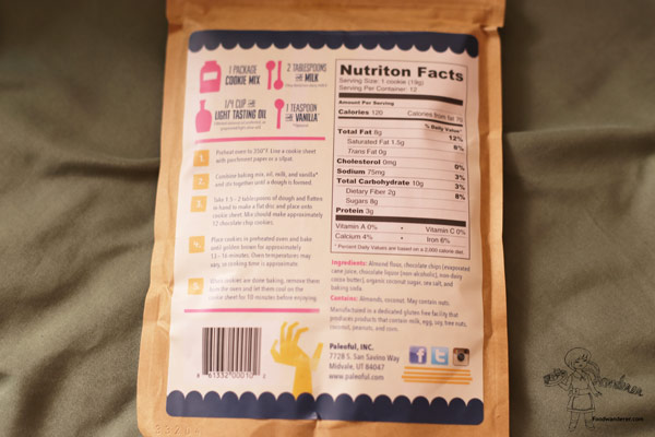 Chocolate Chip Cookie Nutrition Facts