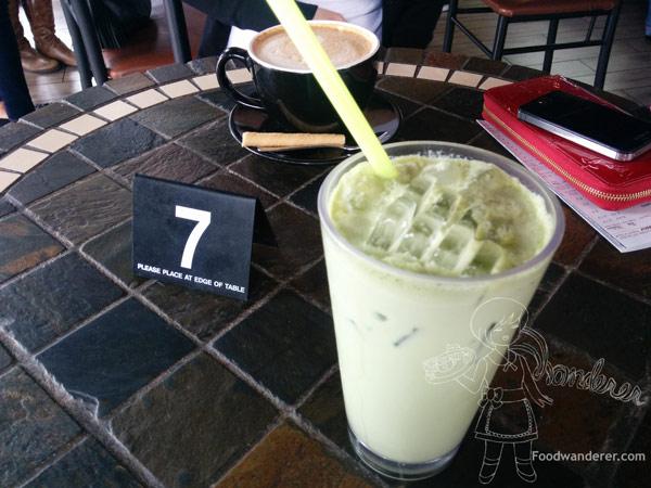 Euro Caffe Nutella Latte & Iced Green Tea