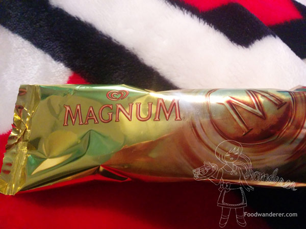 MAGNUM Chocolate Infinity gold package
