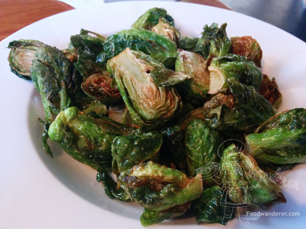 Kabuki's Brussels Sprouts