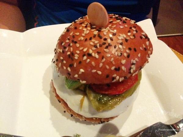 BURGR Hell's Kitchen Burger $15