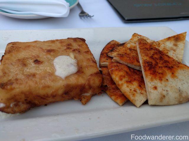 Kefalotyri cheese.