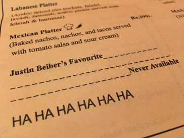 Apparently the Owners are Not Beliebers