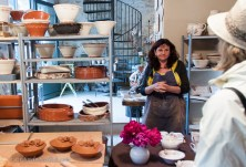 Meet the pottery artist in her studio