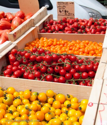 Every color tomato you can imagine