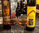 Cinque Terre Sciacchetrà is a dessert wine produced from the local grapes, dried on mats before fermentation, in the passito method.