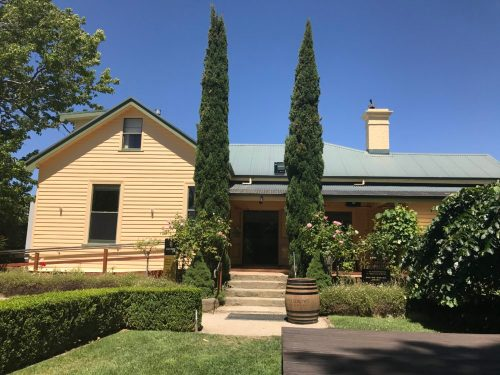 Josef Chromy Wines Cellar Door - looking from the outside