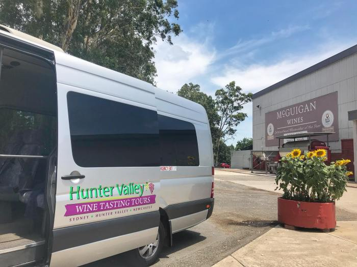 Hunter Valley Wine Tasting Tour Mercedez Van