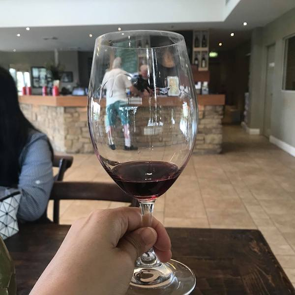 Tulloch wine dry red Shiraz