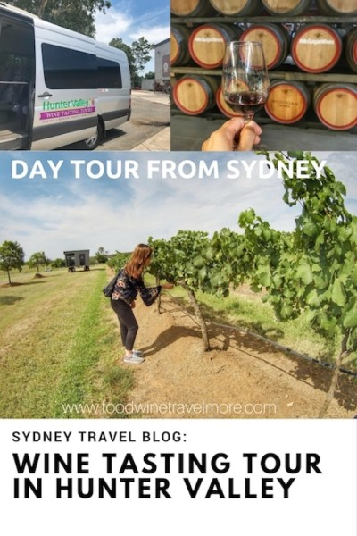 Day tour from Sydney - Wine Tasting Tour in Hunter VAlley Pinterest