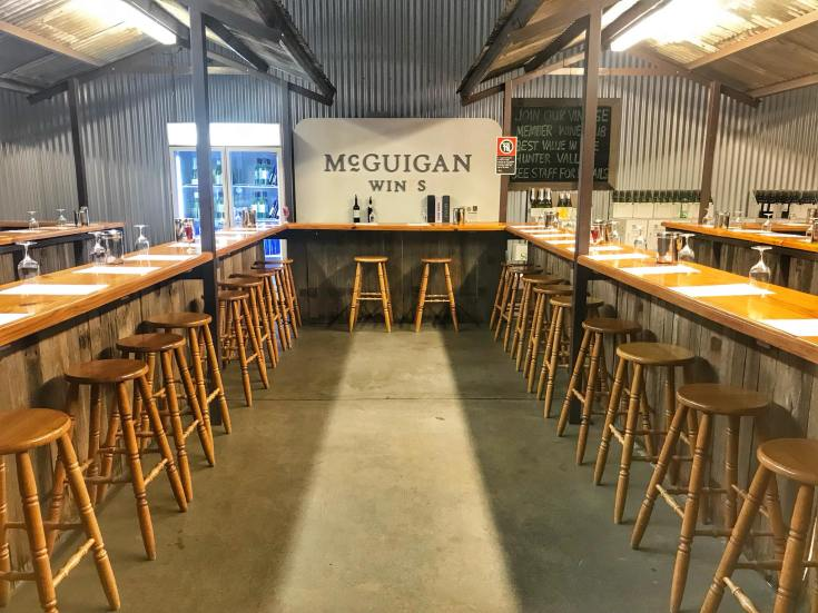 McGuigan Wines Tasting Room