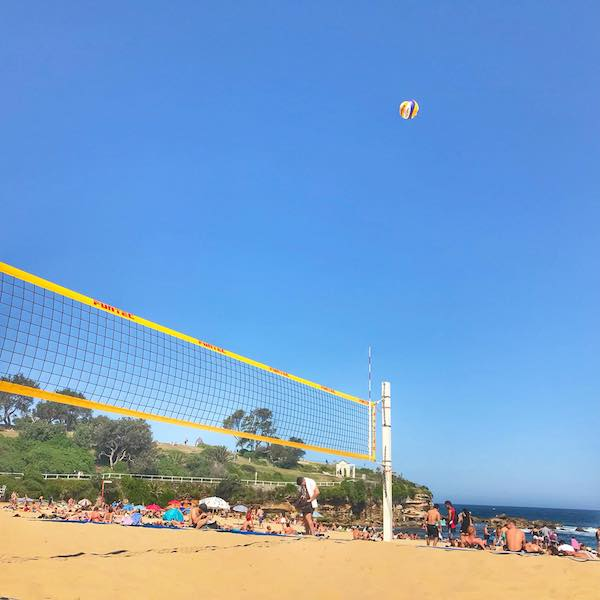 Volley Ballers at Coogee Beach